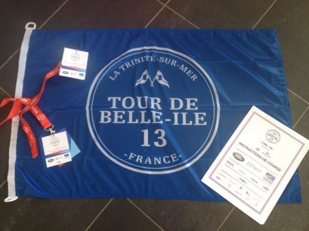 Pavillon du tour de Belle Ile 2013